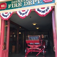 Photo taken at Disneyland Fire Department No. 1 by Winter V. on 8/26/2017