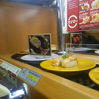 Photo taken at スシロー 東大阪花園店 by あまた ま. on 7/15/2014