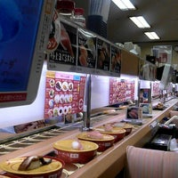 Photo taken at スシロー 東大阪花園店 by あまた ま. on 8/14/2013