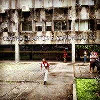 Photo taken at CAC - Centro de Artes e Comunicação by Hélio N. on 6/4/2013