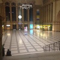 Photo taken at Leipzig Hauptbahnhof by Putri A. on 10/12/2013