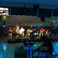 Photo taken at Memory Lanes and the Flashback Cafe by Conie B. on 9/15/2012