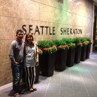 Photo taken at Sheraton Seattle Hotel by Chuchart C. on 7/20/2013