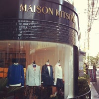 Photo taken at MAISON KITSUNÉ by ワタナベ ト. on 2/23/2013