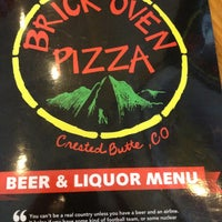 Photo taken at Brick Oven Pizzeria and Pub by Laura Z. on 3/8/2013