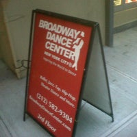 Foto tirada no(a) Broadway Dance Center por Roni I. em 1/14/2013