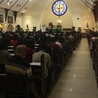 Photo taken at Gereja Katolik Katedral by Reinhart S. on 10/15/2017