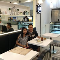 Photo taken at Champs Patisserie by Albert H. on 8/15/2013