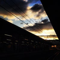 Photo taken at Niigata Station by Miharu H. on 11/21/2012