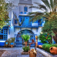 Photo taken at Sidi Bou Said by Люси♊️ on 10/7/2014