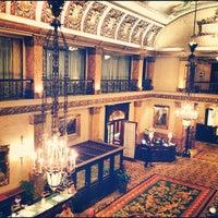 Photo taken at The Pfister Hotel by Ku M. on 11/5/2012