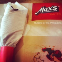 Photo taken at Max's Restaurant by ChiLL Y. on 5/26/2014