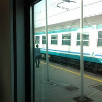Photo taken at Genova Sampierdarena Railway Station by Senko M. on 4/30/2013
