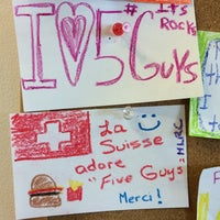 Foto scattata a Five Guys da Rick F. il 4/20/2014