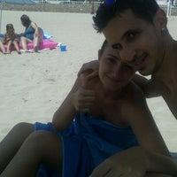 Photo taken at Playa De La Concha by Manuel P. on 7/13/2013