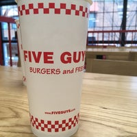 Photo taken at Five Guys by Patrick B. on 3/14/2017