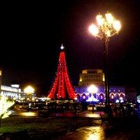 Снимок сделан в Площадь Республики пользователем Kostiantyn I. 12/21/2012