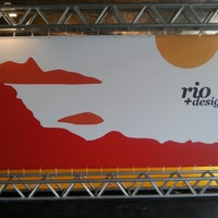 Photo taken at Rio + Design by Gustavo A. on 11/29/2012