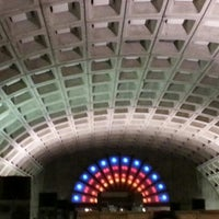 Photo taken at Gallery Place - Chinatown Metro Station by K C. on 4/2/2013