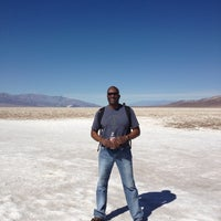 Photo taken at Badwater Basin by Maurice D. on 2/26/2013