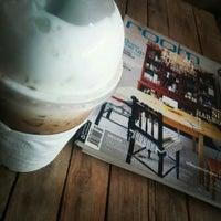 Photo taken at ๙ Nai café by YOs P. on 8/26/2015