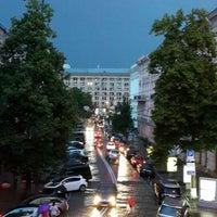 Снимок сделан в Кинотеатр «Украина» пользователем 🍒Кристинка🍒 5/31/2013