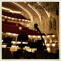 12/7/2012 tarihinde Samantha O.ziyaretçi tarafından Symphony Center (Chicago Symphony Orchestra)'de çekilen fotoğraf