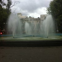 Photo taken at Plaza Luis Cabrera by Rod C. on 9/25/2012