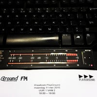 Photo taken at Ground FM by Wout v. on 5/11/2015