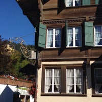 Photo taken at Restaurant Hotel Rössli by Rogerio J. on 10/6/2014