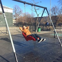 Photo taken at Maria Hernandez Park by josephine h. on 1/17/2015