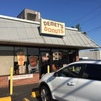 Photo taken at Demet's Donuts by Ryan E. on 6/25/2016