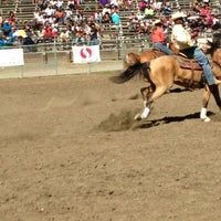 Photo taken at Rowell Ranch Rodeo Park by VL M. on 7/14/2013