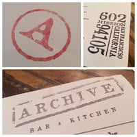 Archive Bar and Kitchen