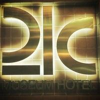 Photo taken at 21c Museum Hotels - Cincinnati by Mike J. on 5/2/2013