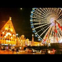 Photo taken at Grand'Place – Place du Général de Gaulle by Dionisis Z. on 11/21/2012