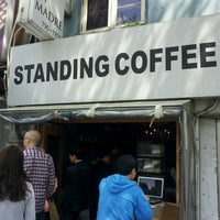 Photo taken at STANDING COFFEE by Hyun Jung P. on 5/1/2013