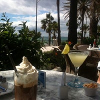 Photo taken at Cappuccino Marbella by Simone P. on 9/30/2013