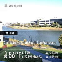 Photo taken at Courtyard San Francisco Airport/Oyster Point Waterfront by Eddie L. on 5/24/2013