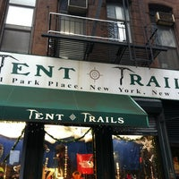 ... Photo taken at Tent u0026&;&; Trails by Gabriel ?. on ... & Tent u0026 Trails - Sporting Goods Shop in New York