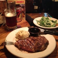 Photo taken at Outback Steakhouse by Aurora R. on 3/17/2013