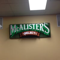 Photo taken at McAlister's Deli by Sarah L. on 12/16/2013