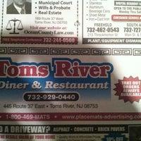 Photo taken at Toms River Diner by Robert I. on 10/7/2012