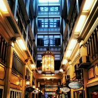 Photo taken at Queen's Arcade by Yssej T. on 3/30/2014