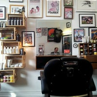 Photo taken at Maloney's Barber Shop by Yssej T. on 9/16/2013