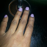 Photo taken at nails by nye by Ms. Nye on 12/15/2013