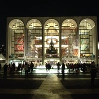 Photo taken at Metropolitan Opera by Brian A. on 12/5/2012