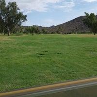 Photo taken at Tres Rios Golf Course at Estrella Mountain Park by Mauricio P. on 9/7/2015