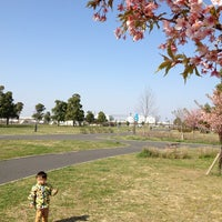 Photo taken at Toneri Park by あけ on 3/17/2013