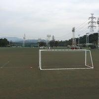 Photo taken at トヨタスポーツセンター サッカー場(人工芝グラウンド) by Tomoya O. on 10/10/2015